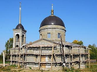 Kesovogorsky District - The Saint Paraskevi Church in Baykovo.