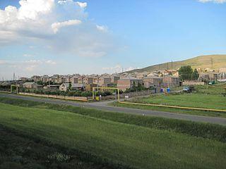 Aghin community in Shirak, Armenia