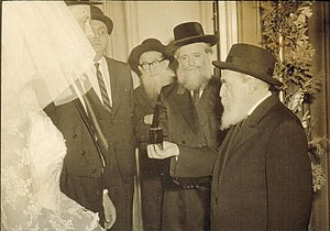 Moshe Feinstein - Rabbi Moshe Feinstein, together with Rabbi Yona Shtencel, founder of Daily Halacha daily mishna