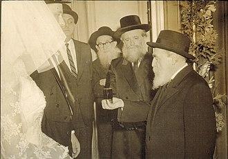 Moshe Feinstein - Moshe Feinstein, together with Yona Shtencel, founder of Daily Halacha daily mishna
