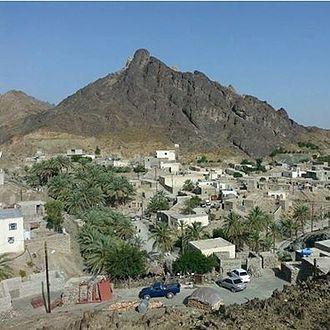 Sarbaz County - Image: روستای پادیگ