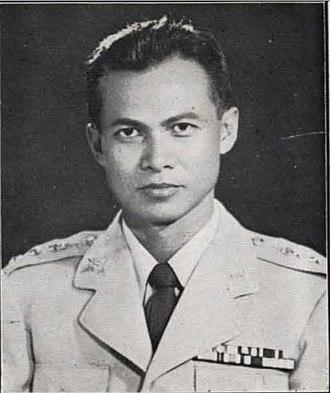 Prem Tinsulanonda - Prem in 1959
