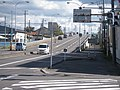 北海道道347号赤川函館線・五稜郭跨線橋(終点側).jpg