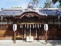堺市中区上之 陶荒田神社拝殿 2012.12.14 - panoramio.jpg