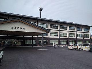Sōma, Fukushima City in Tōhoku, Japan