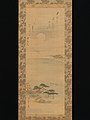 蜀山人(大田 南畝)賛 雪・月・花図 -Snow, Moon, and Cherry Blossoms (Yoshiwara in Three Seasons) MET DP-12232-139.jpg