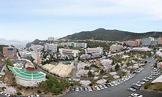 Busanjin District - Dong-eui University