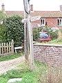 -2018-09-12 Finger post sign for Paston Way, The Street, Knapton, Norfolk (2).JPG