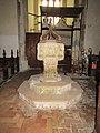 -2018-11-06 Baptismal font, Saint Andrew's, Bacton (3).JPG