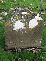 -2019-11-13 Headstone of Elizabeth, 16-December 1733, Trimingham churchyard.JPG