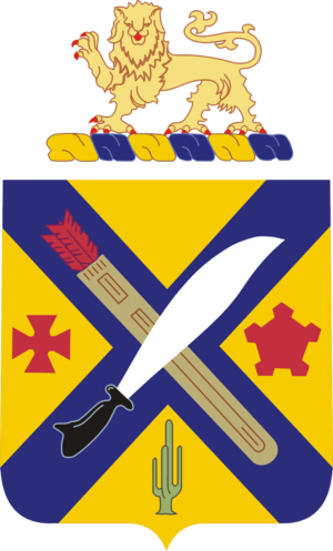 2nd Infantry Regiment (United States) - Image: 002nd Infantry Regiment COA
