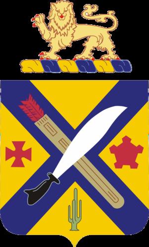 2nd Infantry Regiment (United States) - Image: 002nd Infantry Regiment COA