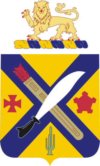 2nd Infantry Regiment (United States) - Coat of arms