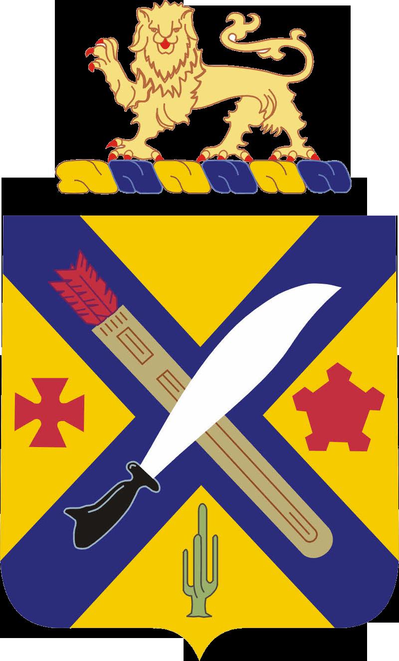 002nd Infantry Regiment COA