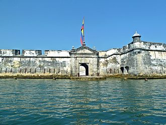 The Amazing Race 5 (Latin America) - The race's Starting Line was at the Fort San Fernando de Bocachica in Tierra Bomba Island, Cartagena, Colombia.