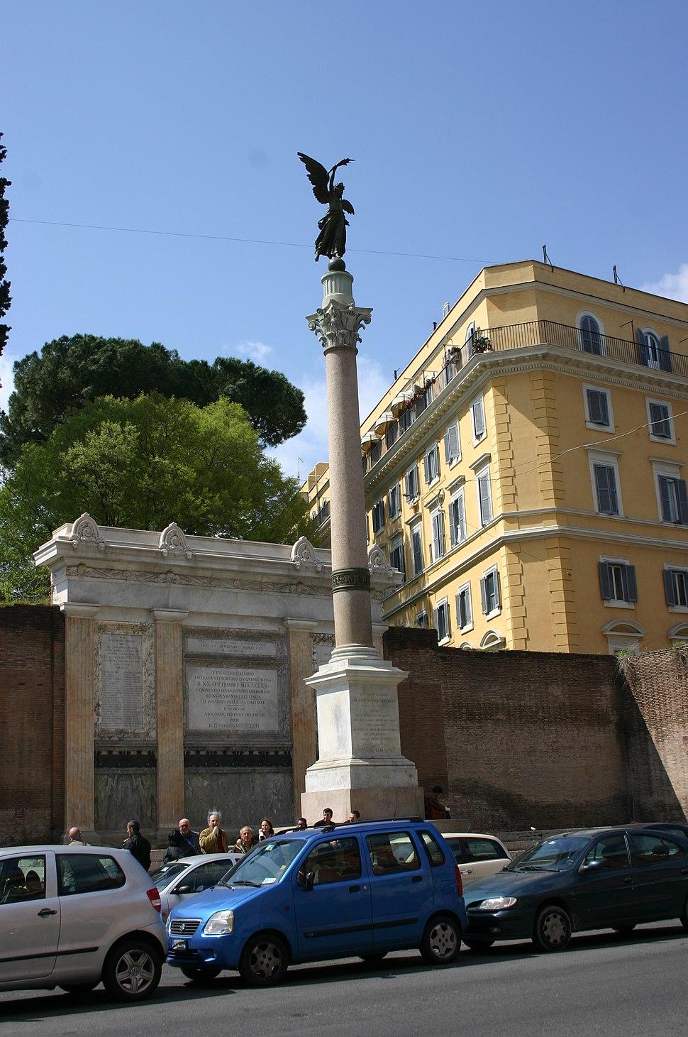 0278 - Roma - Breccia di Porta Pia - Monumento - Foto Giovanni Dall'Orto, 7-Apr-2008