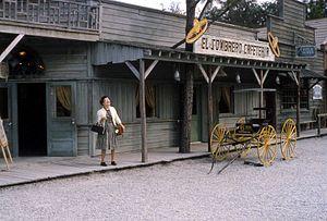 Six Gun Territory - Image: 05 El Sombrero Cafeteria 6 Gun Territory