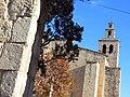 067 Monestir de Sant Cugat del Vallès, façana oest, campanar.JPG
