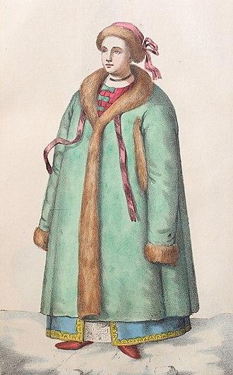 Cossack Hetmanate - Image: 08. Shlahetna ukr panna