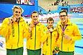 090912 - Men's 4x100m Medley Relay 34 Points - 3b - 2012 Summer Paralympics.JPG