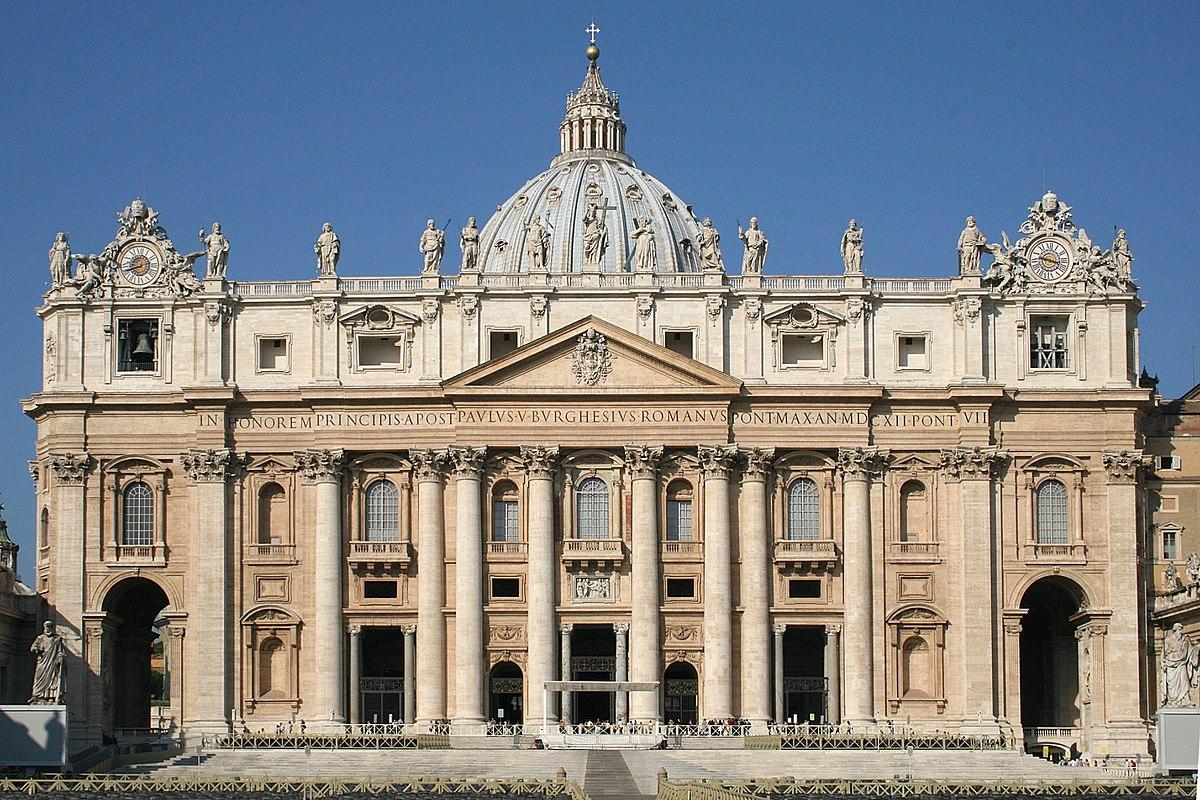 Собор Святого Петра в Ватикане Basilique Saint-Pierre - Rome (2).JPG