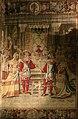 0 Vaux-le-Vicomte - 'Janvier' - Tapisserie de la chambre de Fouquet .JPG