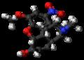 1-Nitrocodeine molecule ball.png