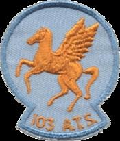 103d Air Transport Squadron - Emblem