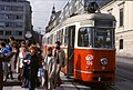 124L30221084 Lerchenfelderstrasse – Auerspergstrasse, Blick stadtauswärts, Strassenbahn Linie 46, Typ C1 136.jpg