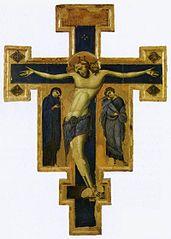 crucifix du Maître des Crucifix bleus
