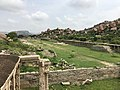 15th-16th century ruins of market and Vaishnavism Achyutaraya Tiruvengalanatha temple, Hampi Hindu monuments Karnataka 3.jpg