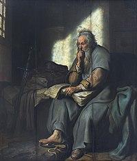 1627 Rembrandt Paulus im Gefängnis Staatsgalerie Stuttgart anagoria.JPG