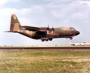 181st Tactical Airlift Squadron Lockheed C-130B-LM Hercules 58-0734