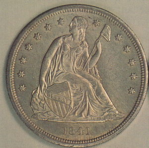 Numismatic history of the United States - Seated Liberty dollar