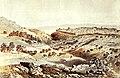 1853. Gezicht op Jeruzalem, aquarel van Van der Velde.jpg