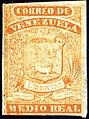 1859 MedioReal orange Venezuela Mi1c.jpg