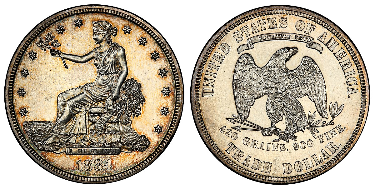 Trade Dollar United States Coin Wikipedia