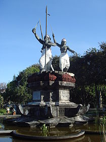 1906 Puputan monument in Denpasar.jpg