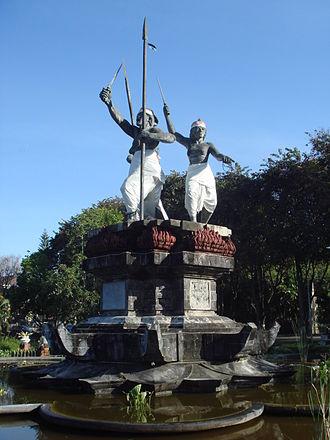 Bali - Puputan monument