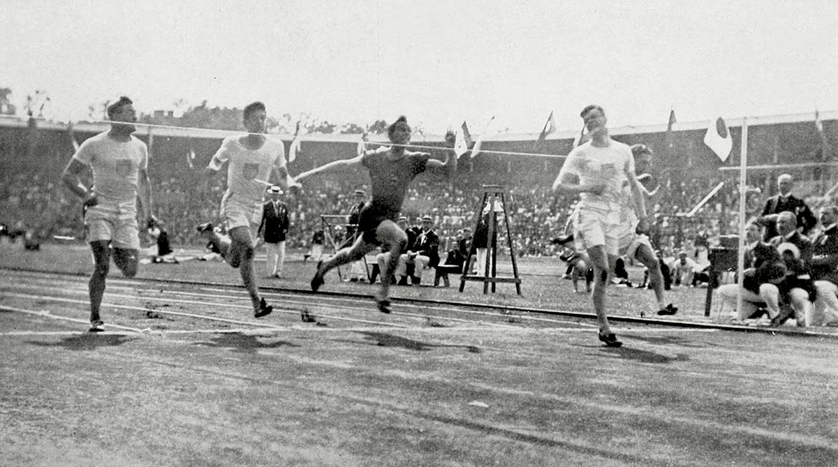 athletics at the 1912 summer olympics men 39 s 100 metres