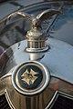 1919 Crossley Radiator Cap And Logo - 20-25 hp - 4 cyl - Kolkata 2018-01-28 0538.JPG