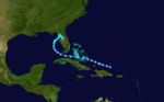 1941 Atlantic tropical storm 6 track.png