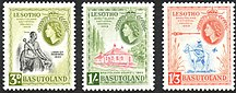 Lesotho-British rule (1868–1966)-1959 Basutoland National Council stamps