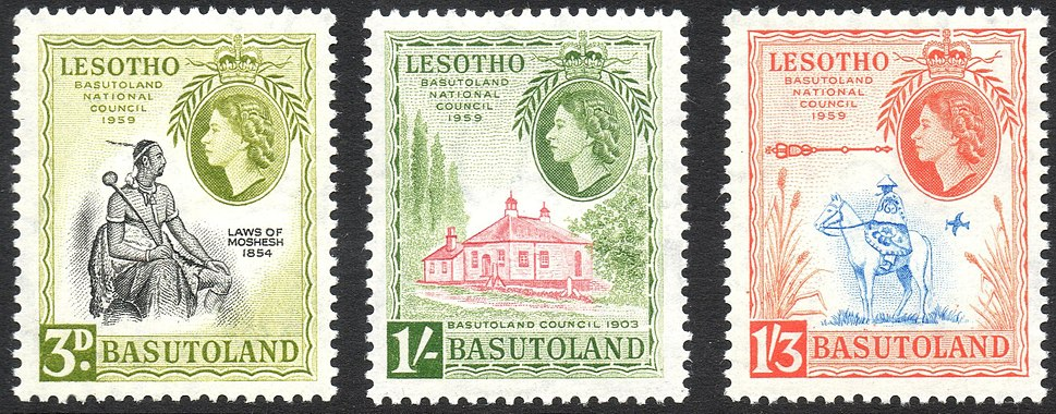 1959 Basutoland National Council stamps