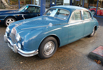 Jaguar Mark 1 - Very late (1959) Jaguar 3.4 Litre