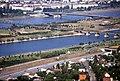 196L35180890 Donauturm, Blick vom Donauturm, Donauinsel, Nordbahnbrücke, Floridsdorferbrücke.jpg