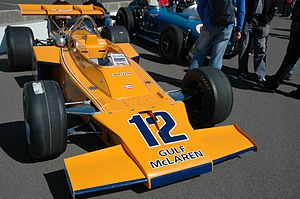 Peter Revson - The McLaren Revson drove in the 1972 Indianapolis 500