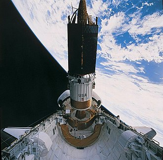 Tracking and data relay satellite - Image: 1993 s 54 TDRS F