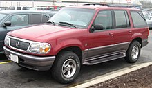 mercury mountaineer 1998 tire size