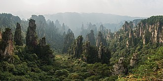 Avatar (2009 film) - Zhangjiajie National Forest Park